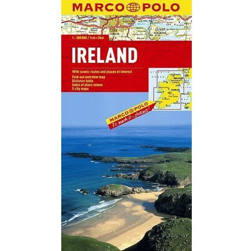 Marco Polo Länderkarte Irland 1 : 300 000 (ISBN 9783829738613)