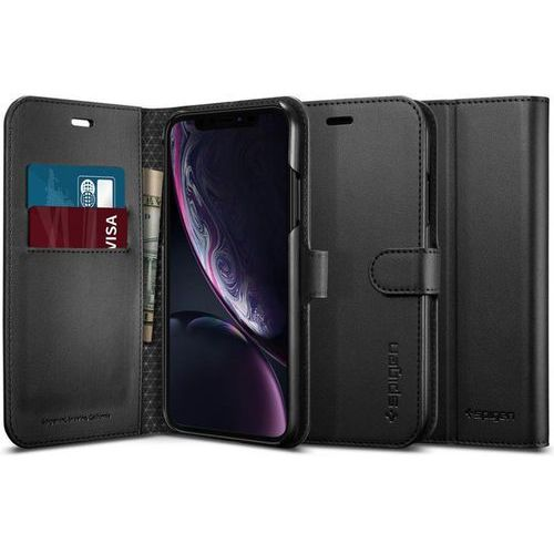 Spigen Etui wallet s portfel apple iphone xr black