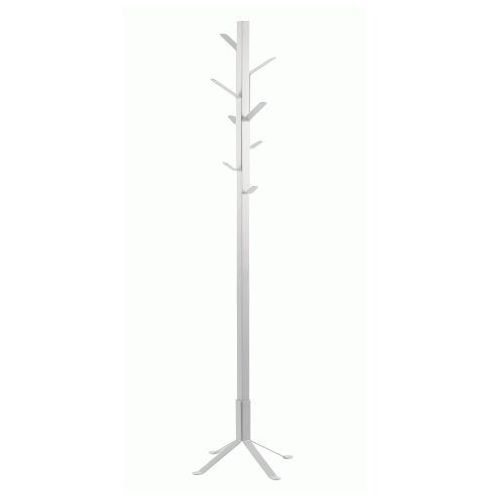 Loftowy wieszak stojący Maye - biały, Akc000418