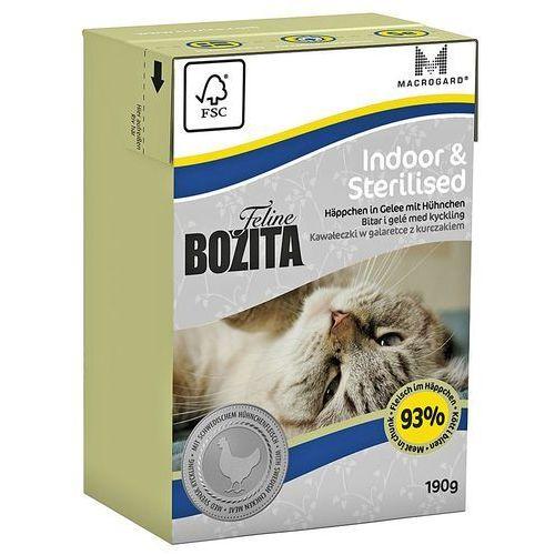 Bozita feline indoor & sterilised - tetra pak 190g (7300330020628)