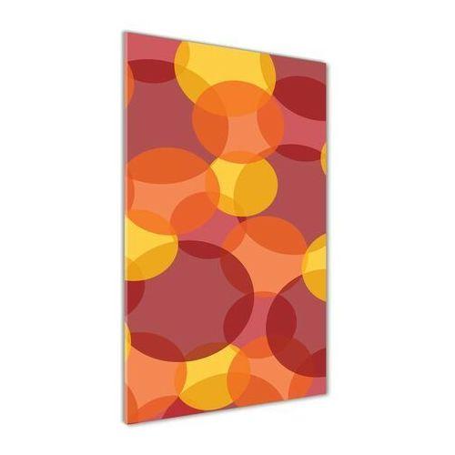 Foto obraz akryl do salonu Kolorowe kółka