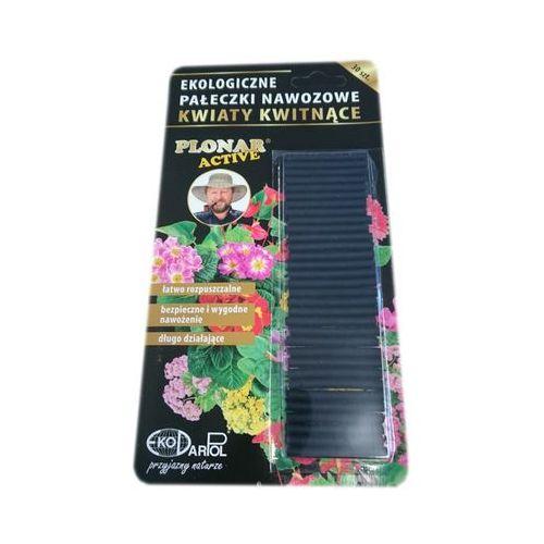 Ekologiczne pałeczki nawozowe Kwiaty Kwitnące Plonar Active 30 szt