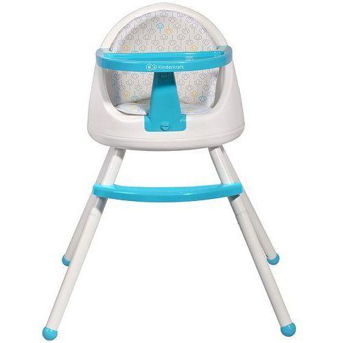Krzesełko do karmienia KINDERKRAFT Tutti 4 w 1 Niebieski + DARMOWY TRANSPORT!
