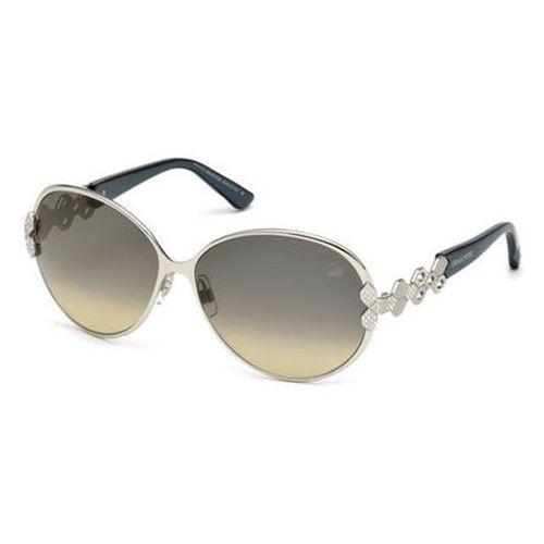 Okulary Słoneczne Swarovski SK 0072 16B, kolor żółty