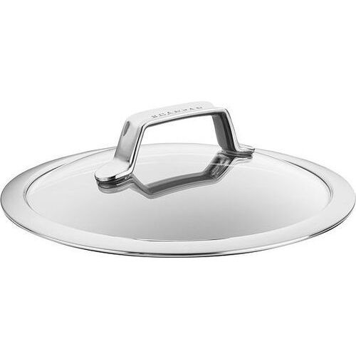 Pokrywka okrągła szklana TechnIQ 22 cm, 54200203TIQ