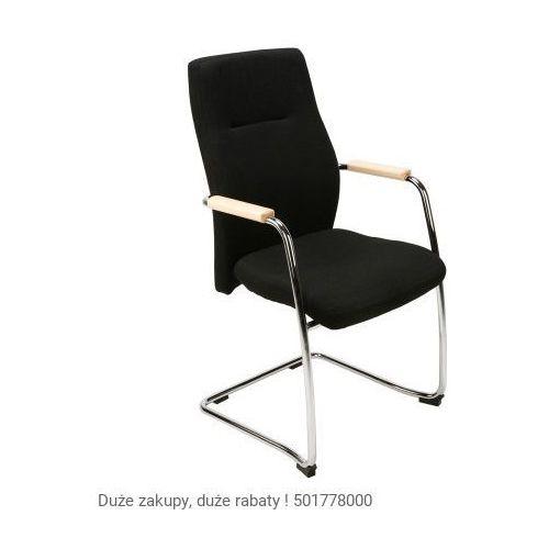 Nowy styl Krzesło konferencyjne orlando wood steel cfp chrome