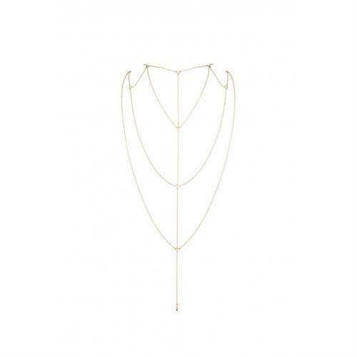 Bijoux Indiscrets - Magnifique Back & Cleavage Chain (złoty)