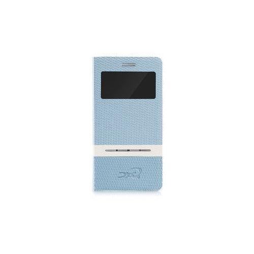Etui tel.kom.eXc CROCO FIT do Samsung S3, Niebieskie, kolor niebieski