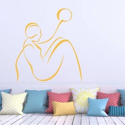 Naklejka dekoracyjna sylwetka 2036 marki Wally - piękno dekoracji