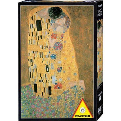 Piatnik Puzzle 1000 - klimt. pocałunek (9001890545962)
