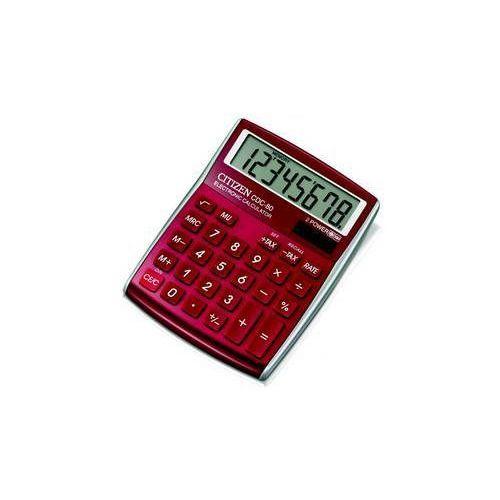 Kalkulator  cdc-80rd (cdc-80rd) czerwona marki Citizen