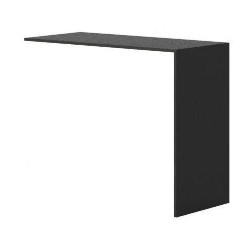 Stolik barowy do szafy dostawnej, czarny marki Plan