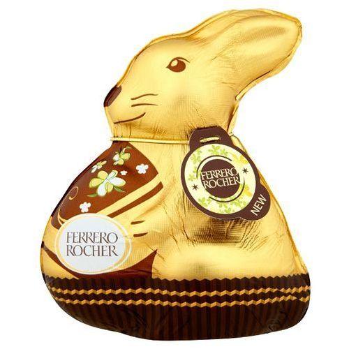Rocher Ferrero  100g królik figurka z mlecznej czekolady z kruszonymi orzechami laskowymi