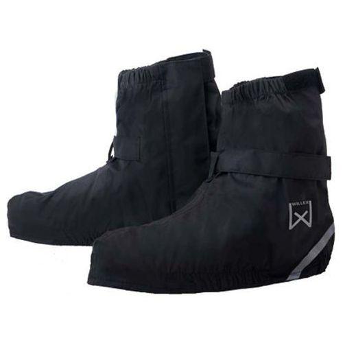 ochraniacze na buty rowerowe, krótkie, 44-48, czarne, 29425 marki Willex