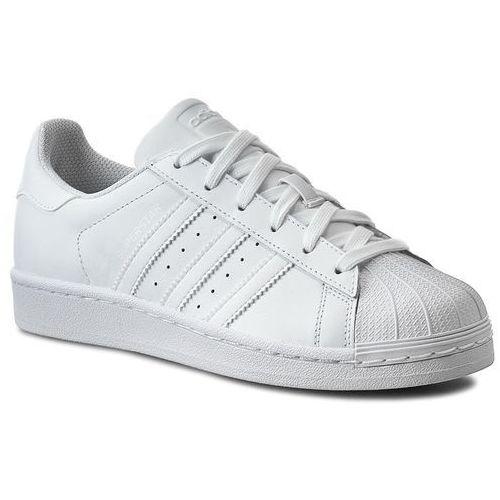 Buty - superstar foundation j b23641 ftwwht/ftwwht/ftwwht marki Adidas