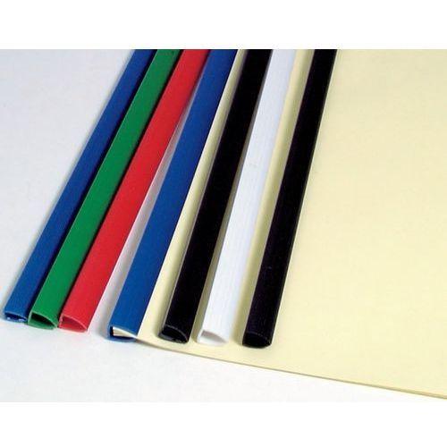 Popularne listwy do bindowania z jedną zaokrągloną końcówką umożliwiającą oprawienie w plastikowy grzbiet do 20 kartek, czerwone, 6 mm, 50 sztuk - Rabaty - Porady - Negocjacja cen - Autoryzowana dystrybucja - Szybka dostawa.