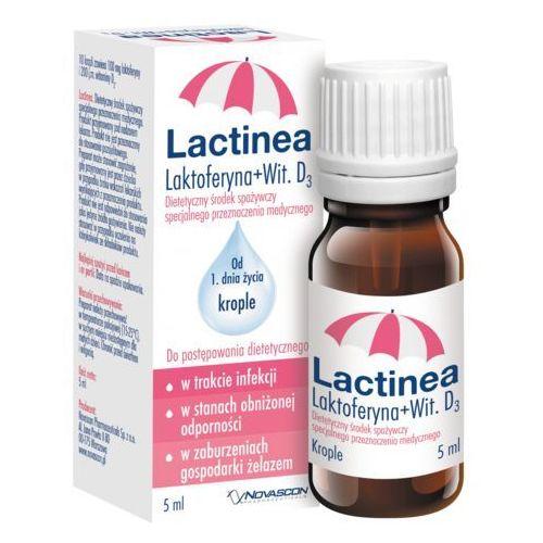 Lactinea krople 5ml marki Novascon pharmaceuticals