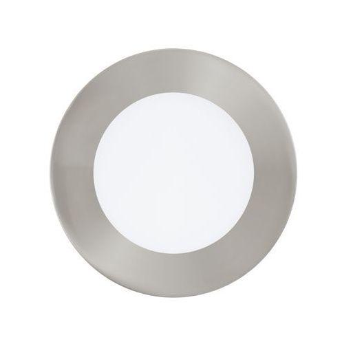 Eglo Oczko lampa sufitowa fueva 1 94521  podtynkowa oprawa ścienna led 5,5w okrągły wpust ip20 nikiel satynowany