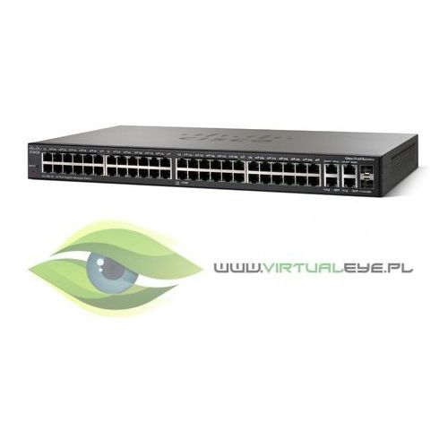 Sg300-52p switch 50x1gbe 2xcombo poe marki Cisco