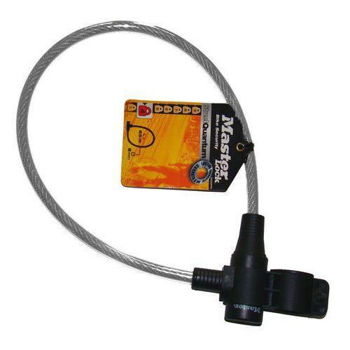 Zapięcie rowerowe MASTERLOCK QUANTUM 8269 8mm 65cm KLUCZYK czarne, przeźroczyste MRL-8269EURDPRO SS16, MRL-8269EURDPRO