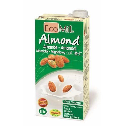 Mleko migdałowe z wapniem słodzone agawą bio 1l marki Ecomil