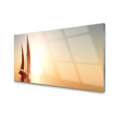 Obraz akrylowy łódka morze słońce krajobraz marki Tulup.pl