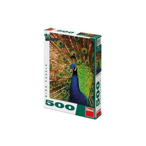 Páv - puzzle 500 dílků neuveden (8590878502239)