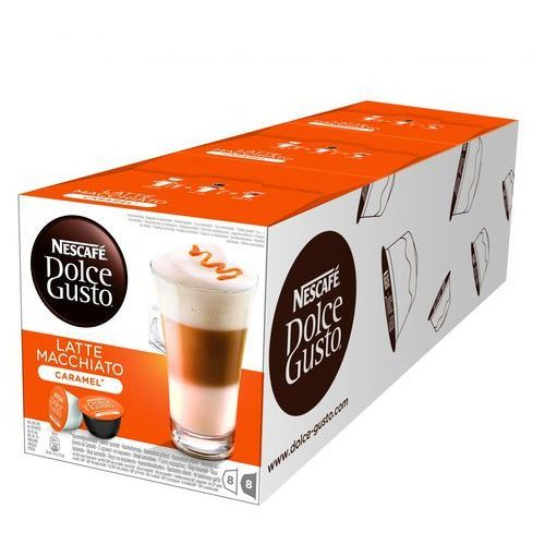 Nescafe Kapsułka dolce gusto latte macchiato caramel (7613033024177)