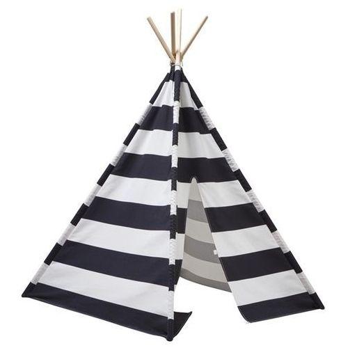 Namiot Tipi Kids Concept - Czarno-Biały KC1000126, KC1000126
