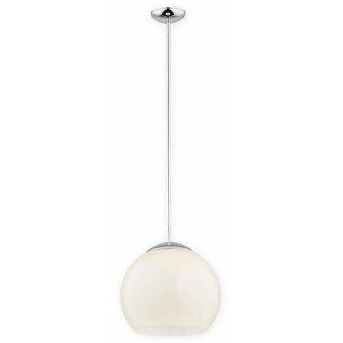 Lemir nolab o2841 w1 ch + kre [d] lampa wisząca zwis 1x60w e27 chrom+kremowy