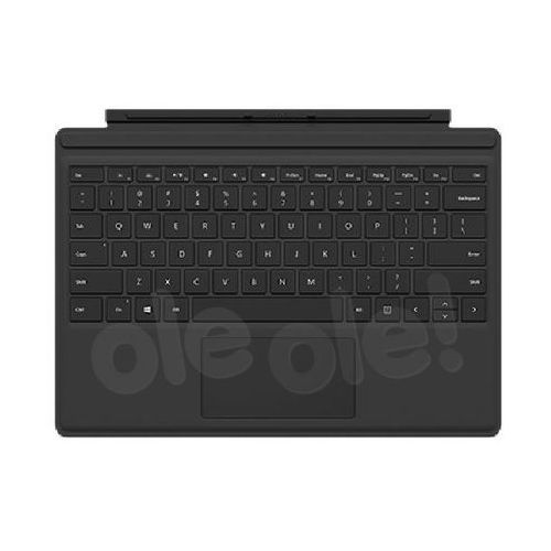 Microsoft surface pro 4 type cover qc7-00094 (czarny) - produkt w magazynie - szybka wysyłka!