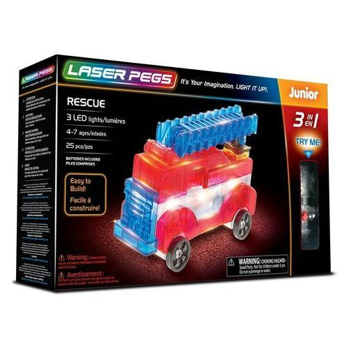 3 in 1 Rescue - Laser Pegs