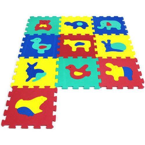 Puzzle piankowe 10 elementów Zwierzęta (5901811107818)