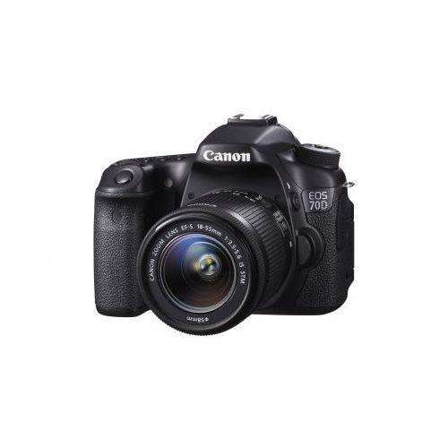 Canon EOS 70D. Najniższe ceny, najlepsze promocje w sklepach, opinie.