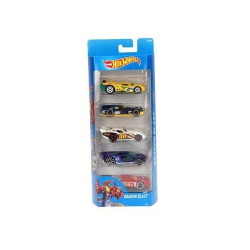 Mattel Hot wheels małe samochodziki 5-pak (0074299018060)