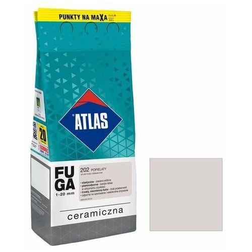 Fuga ceramiczna 201 popielaty 2 kg marki Atlas