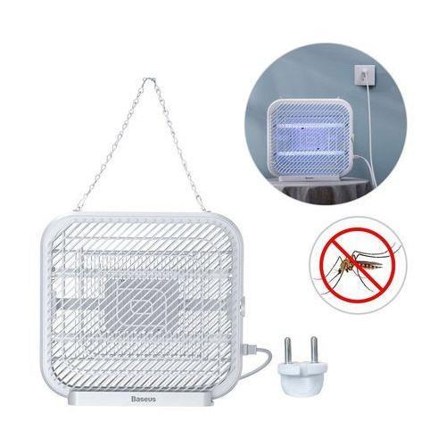Baseus mosquito killing lamp elektryczna lampa owadobójcza uv na komary muchy owady biały (acmwd-fb02)