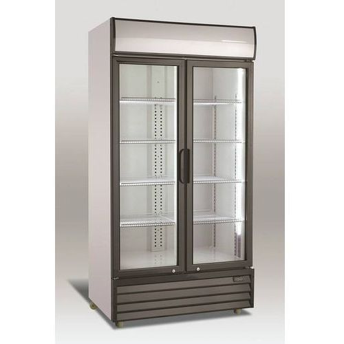 Szafa chłodnicza przeszklona   800l   1000x720x(h)2020mm marki Resto quality