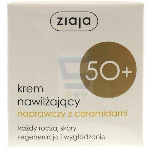 Ziaja 50+ Krem do twarzy nawilżający naprawczy z ceramidami 50 ml