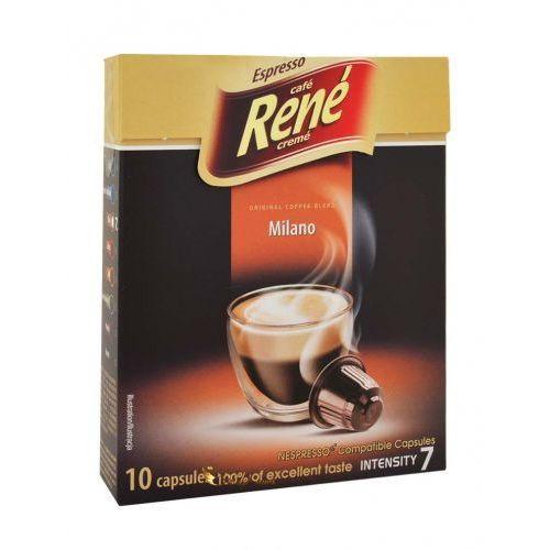 Nespresso kapsułki Rene milano kapsułki do nespresso – 10 kapsułek (5902480013967)