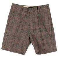 szorty BRIXTON - Graduate Slack Short Grey Plaid (GYPLD) rozmiar: 30, kolor szary
