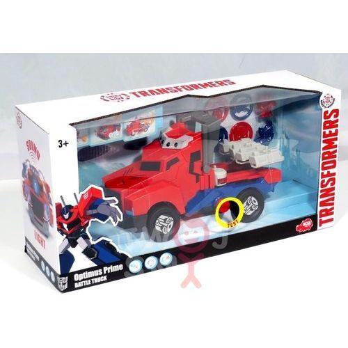 Dickie toys Transformers bojowy wyrzutnik krążków optimus