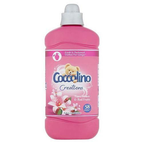 Coccolino Creations Tiare Flower & Red Fruits Płyn do płukania tkanin koncentrat 1450 ml (58 prań)