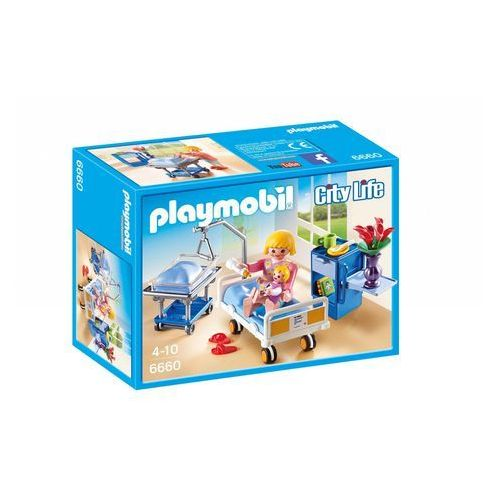 Playmobil CITY LIFE Sala chorych z łóżkiem dla niemowlaka 6660