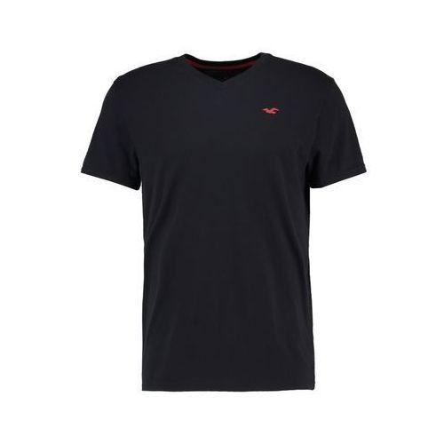 Hollister Co. Tshirt basic black, bawełna