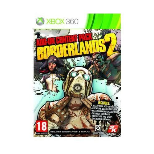Borderlands 2 Add-On Content Pack (Xbox 360)