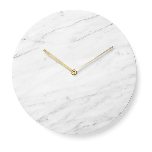 Menu Zegar ścienny marble 30 cm white