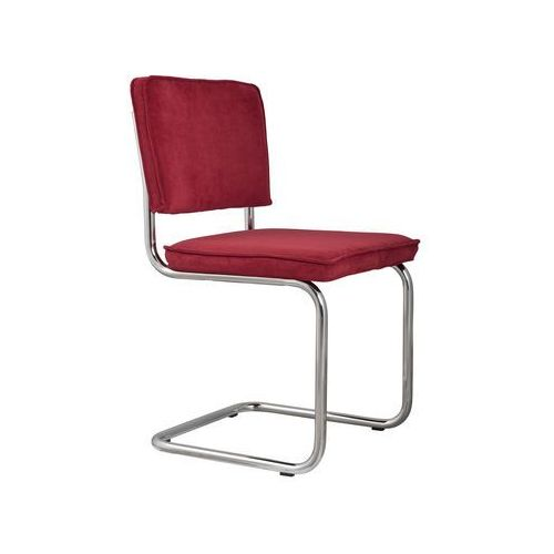 Zuiver Krzesło RIDGE RIB czerwone 21A 1006002