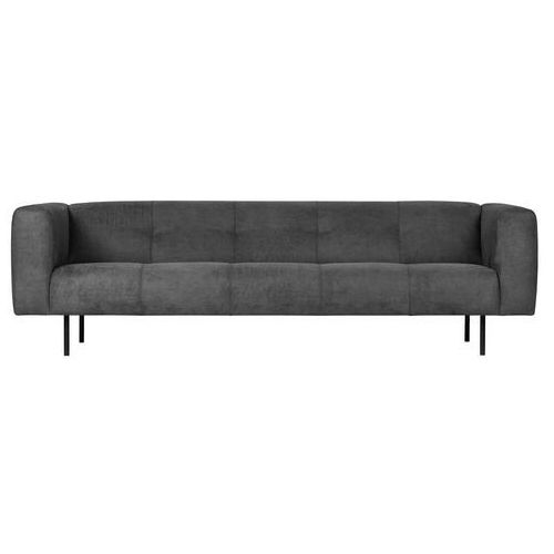 sofa skin 4-osobowa 250 cm ciemnoszara 375113-d marki Woood