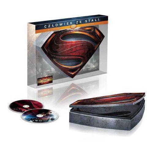 Człowiek ze stali 3D (2 Blu-ray Limitowana Edycja Kolekcjonerska) - Zakupy powyżej 60zł dostarczamy gratis, szczegóły w sklepie (7321996326626)